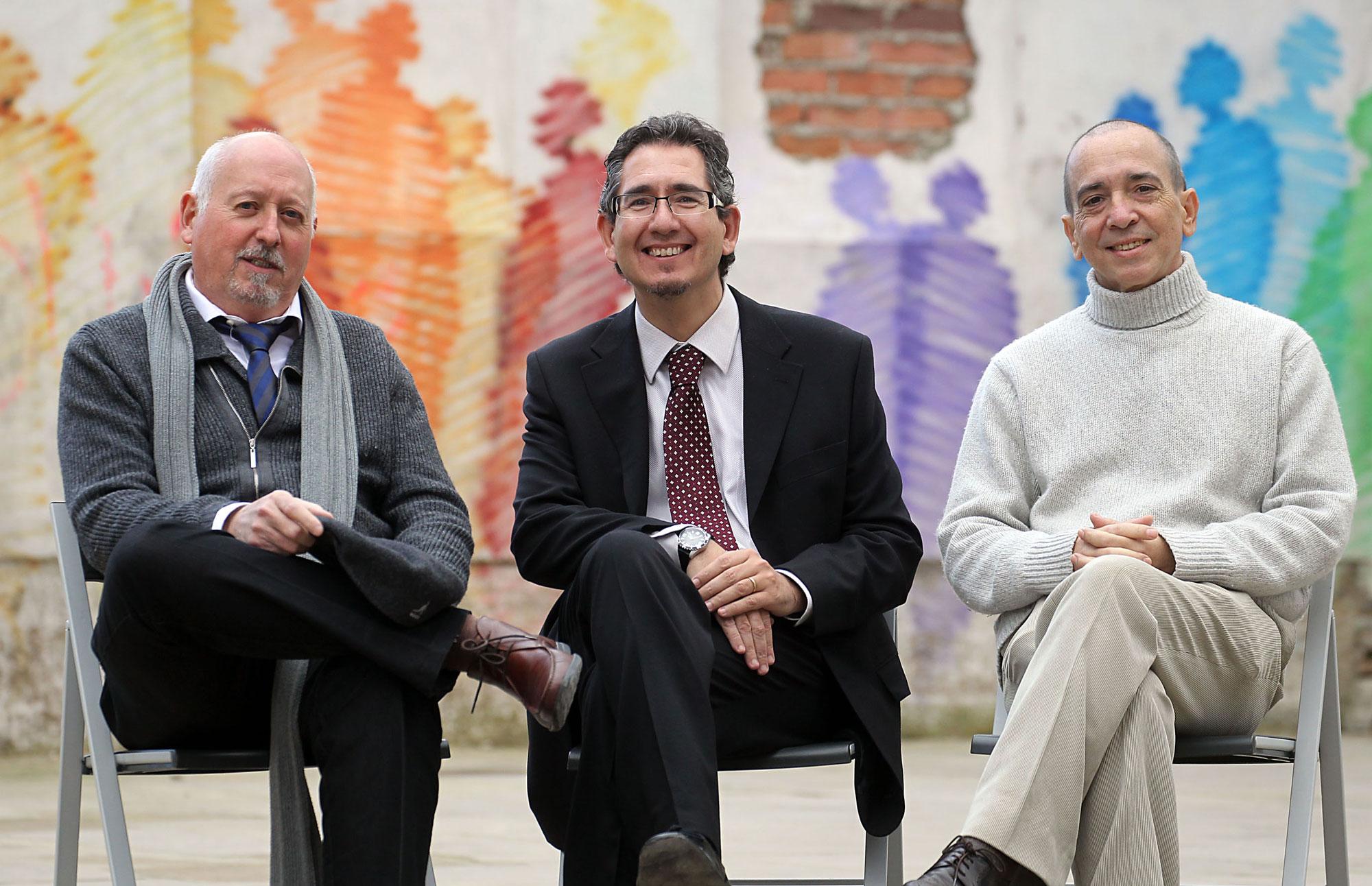 Luis Enrique González de Garay, Luis Sáez Angulo y Javier Alonso